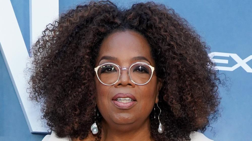 Oprah Winfrey attending premiere event