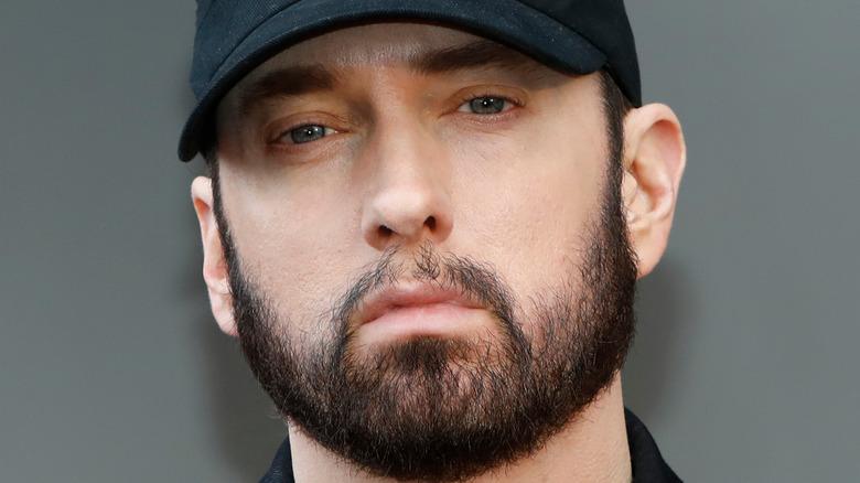 Eminem on red carpet