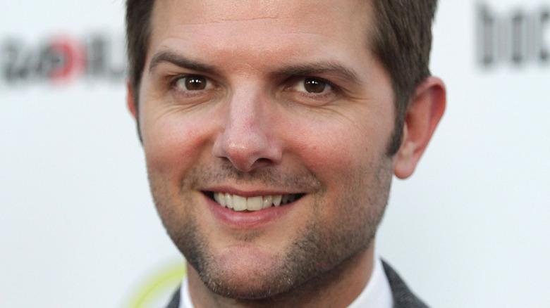 Adam Scott smiling