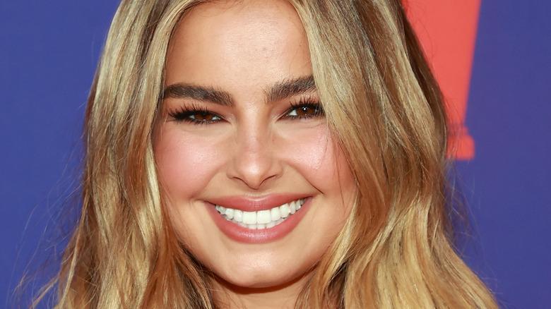 Addison Rae smiling