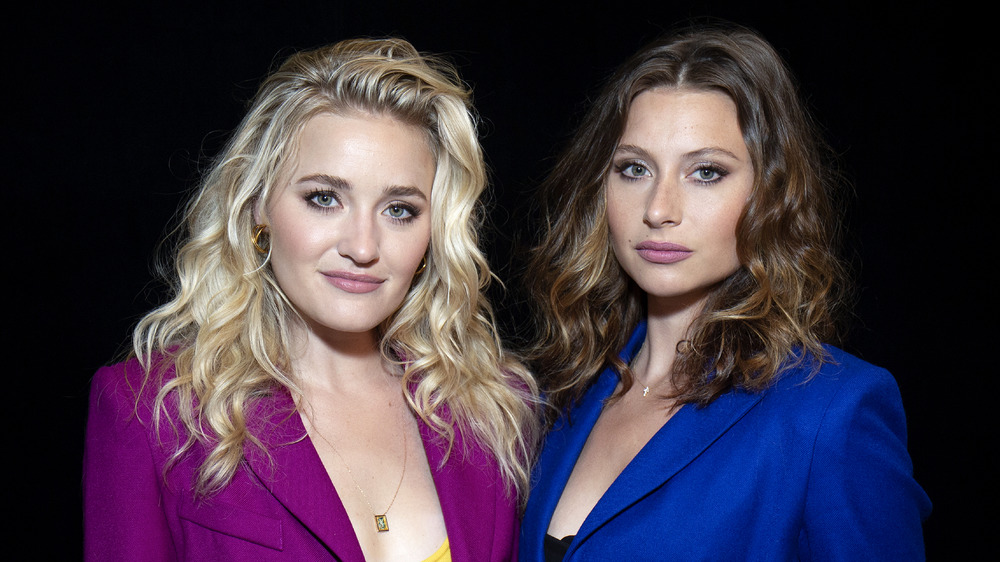 Aly and AJ Smiling