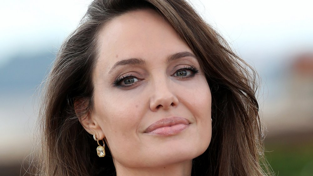 """Angelina Jolie attends the photocall of the movie """"Maleficent – Mistress Of Evil"""" at Hotel De La Ville"""