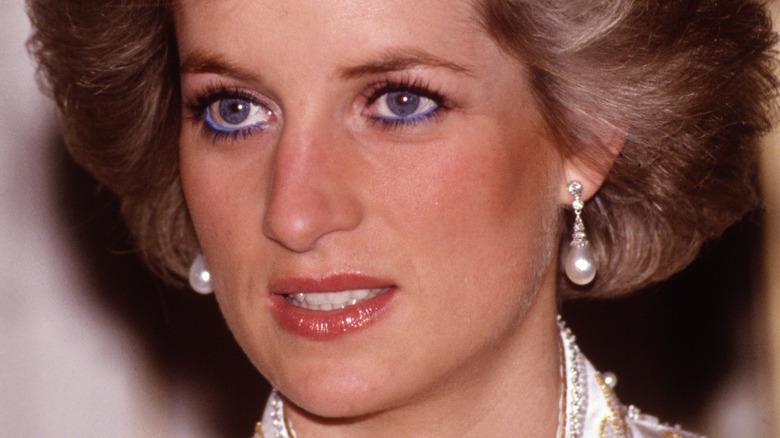 Princess Diana in Paris, France in 1988
