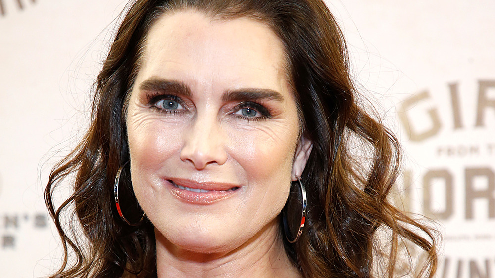 Brooke Shields at a red carpet event