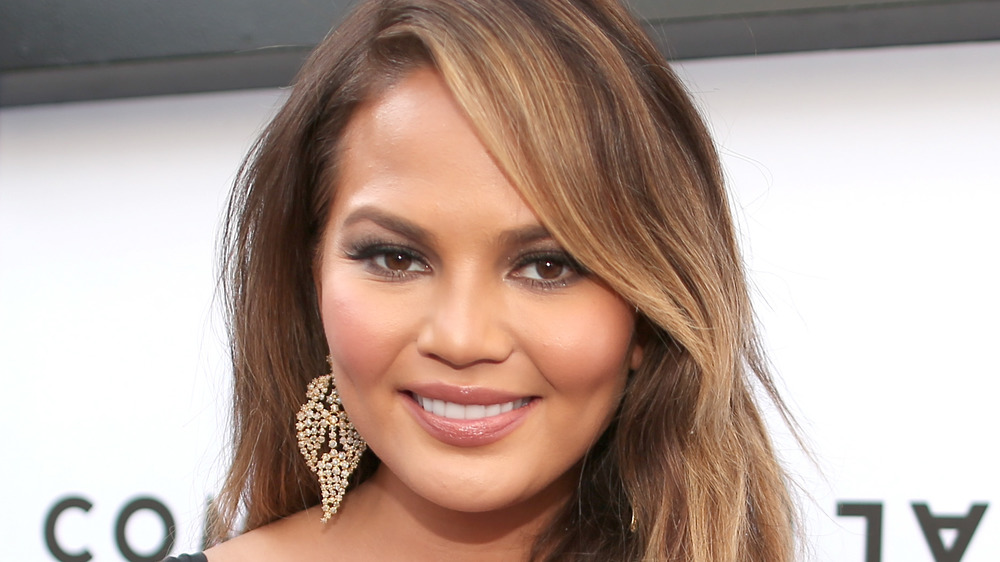 Chrissy Teigen at The Comedy Central Roast of Justin Bieber