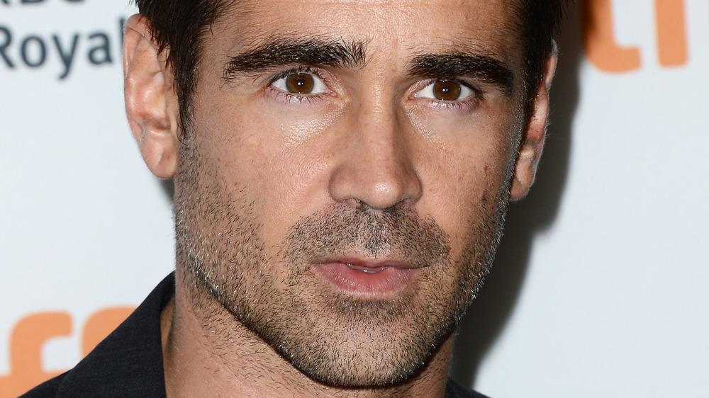 Colin Farrell closeup
