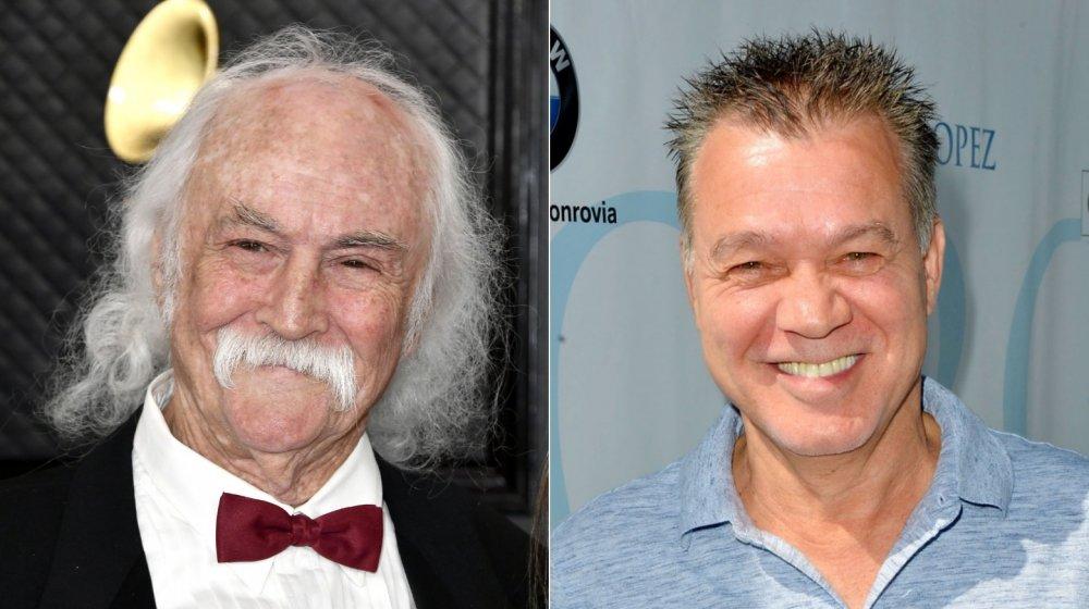 David Crosby and Eddie Van Halen