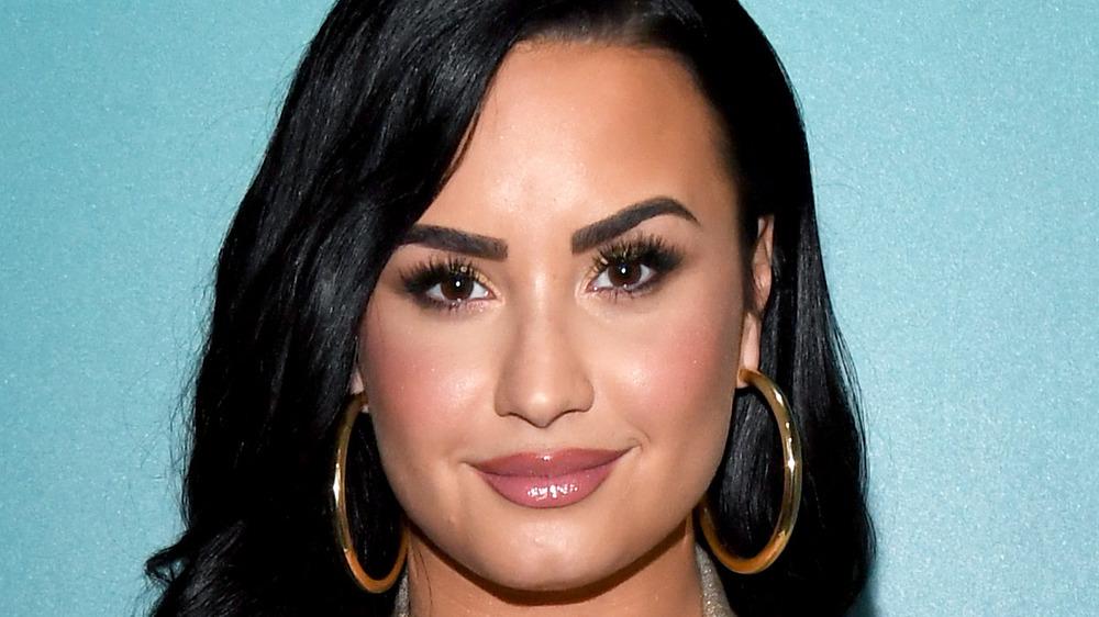 Demi Lovato at SiriusXM's Radio Andy