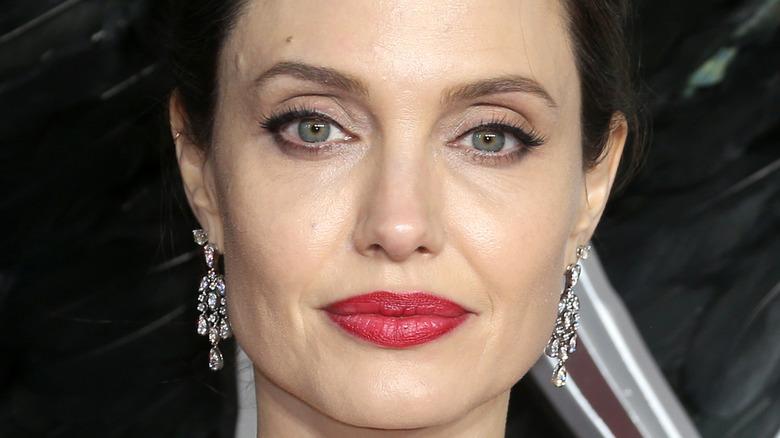 Angelina Jolie on red carpet