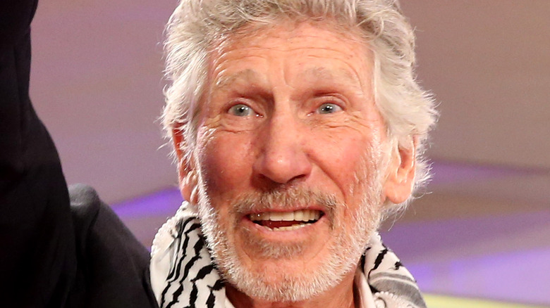 Roger Waters on the red carpet