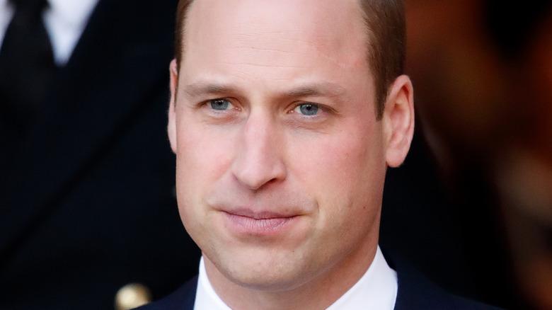 Prince William, posing