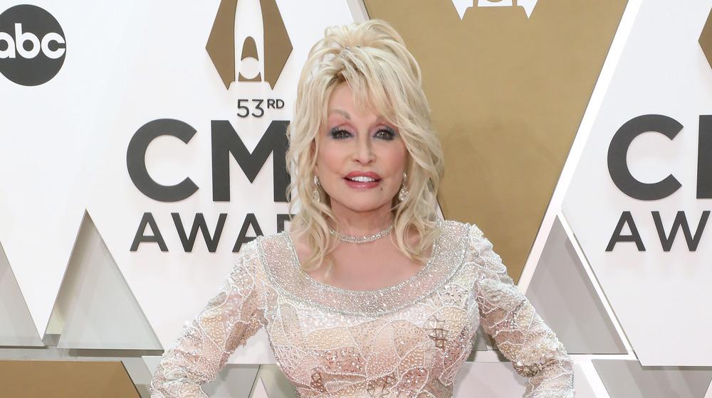 Dolly Parton at award show