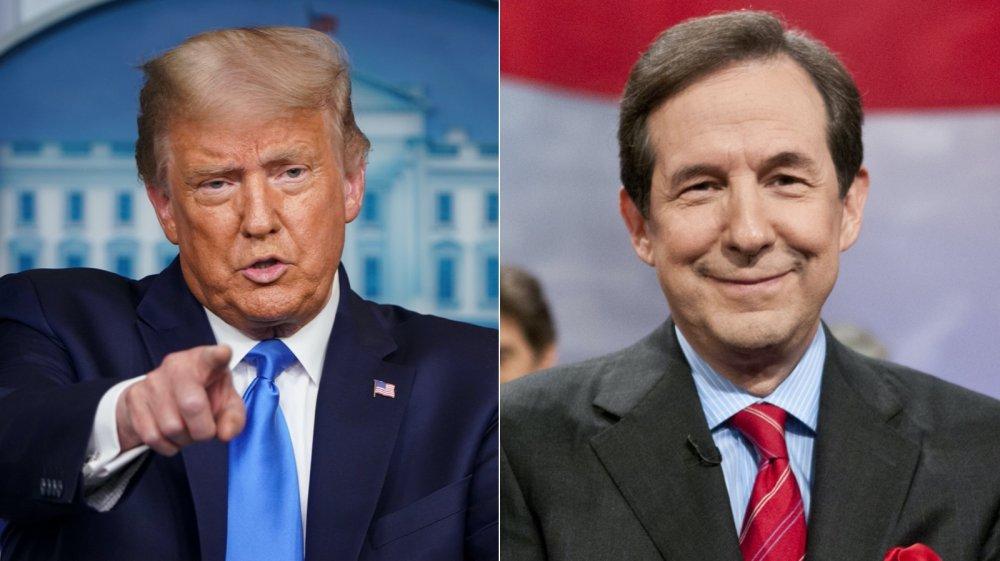 Donald Trump and Chris Wallace