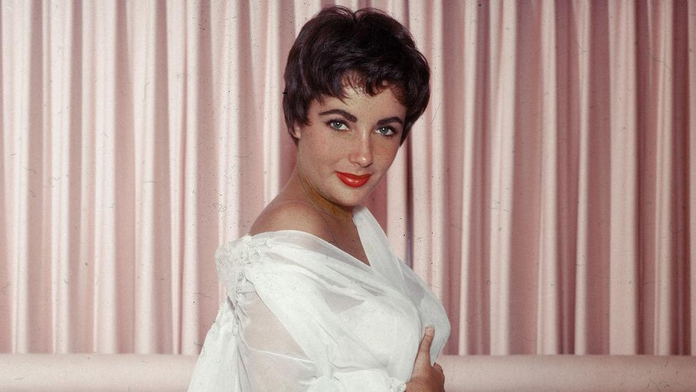 Elizabeth Taylor circa the 1950s