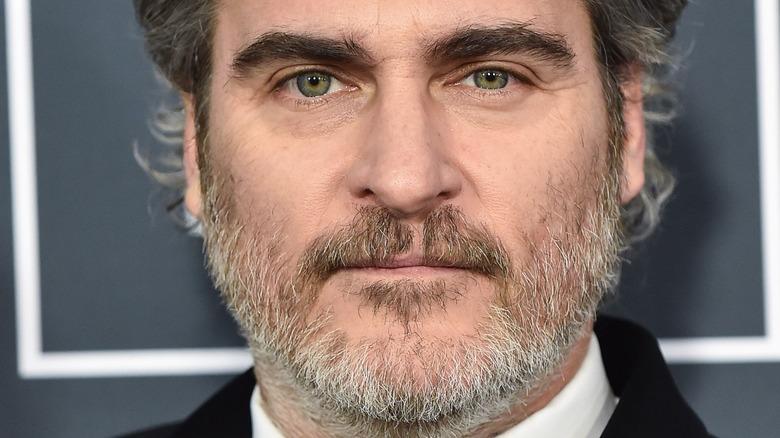 Joaquin Phoenix on the red carpet