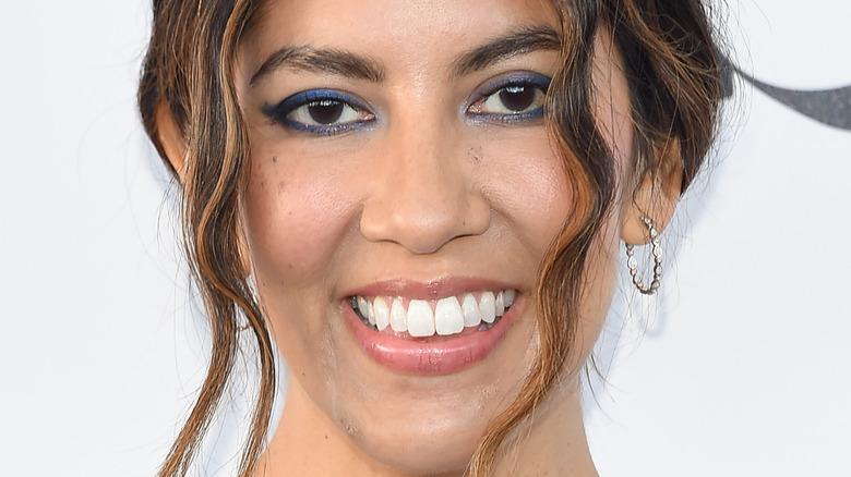Stephanie Beatriz on red carpet