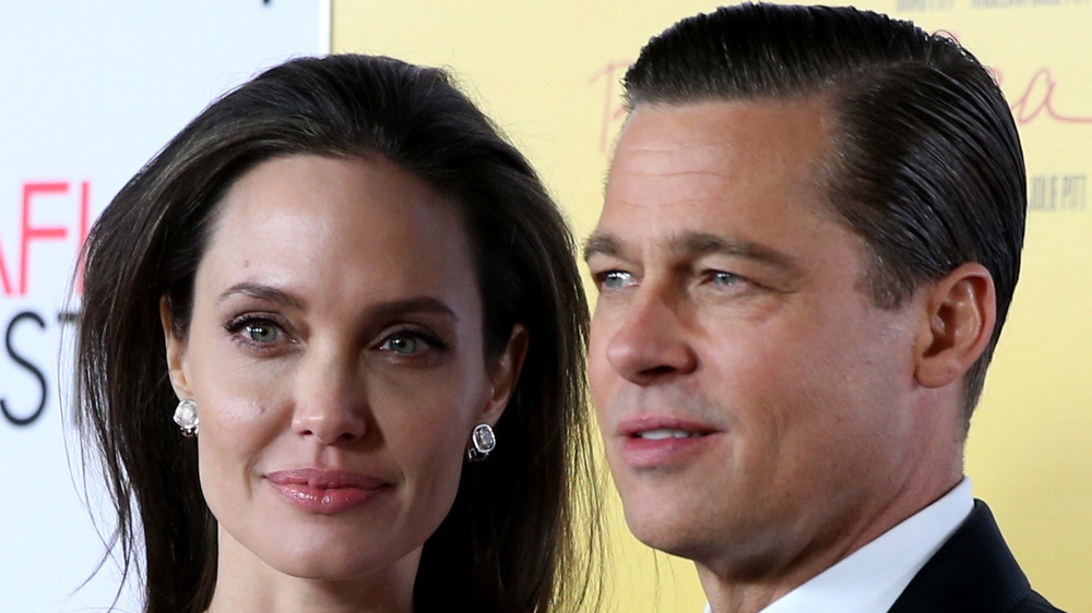 Angelina Jolie & Brad Pitt on the red carpet