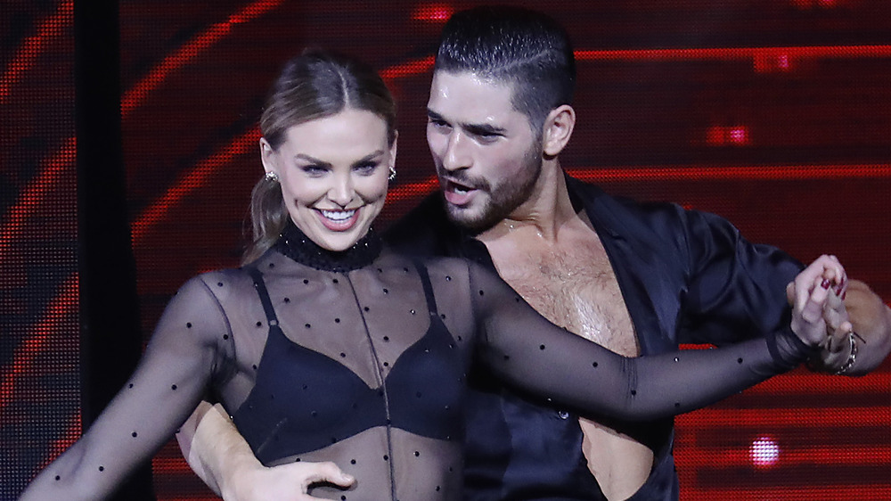 Hannah Brown and Alan Bersten dancing on 'Dancing with the Stars'