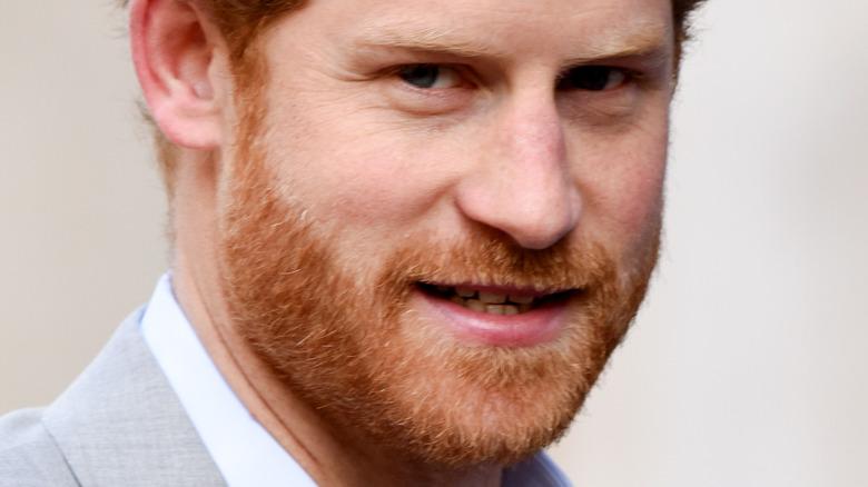 Prince Harry posing