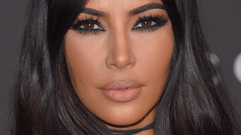 Kim Kardashian West arrives at the 2018 LACMA Art + Film Gala