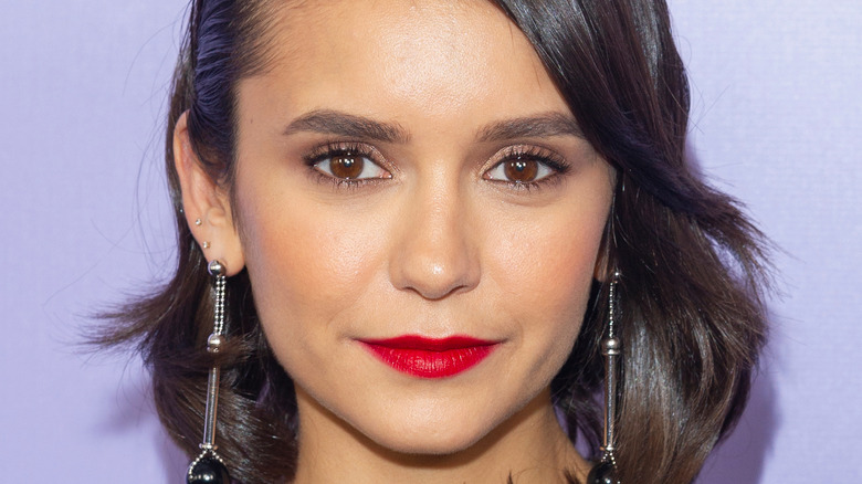 Nina Dobrev appears at an event