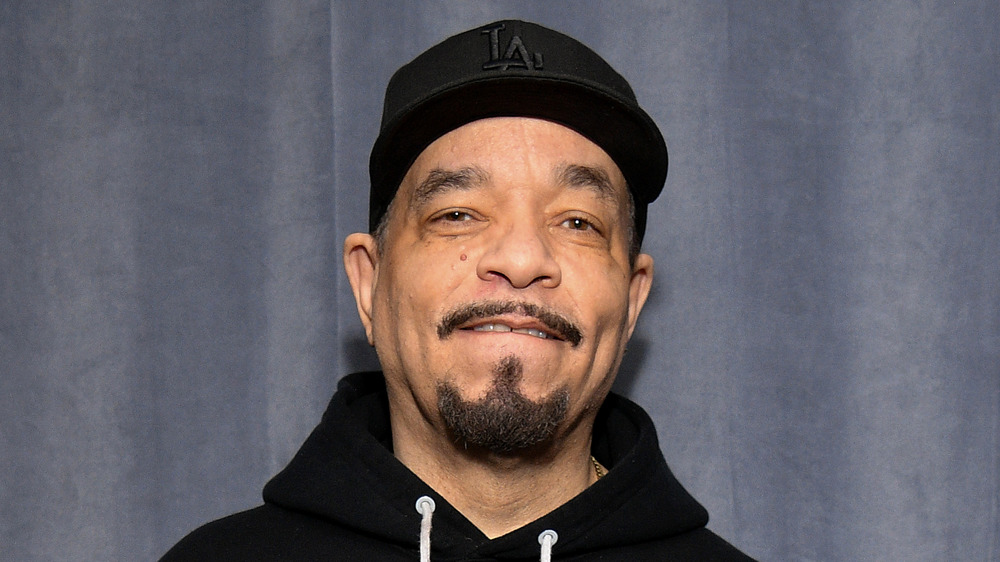 Ice-T posing