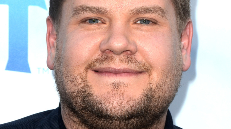 James Corden smiling at event