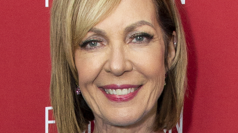 Allison Janney smiling at an event