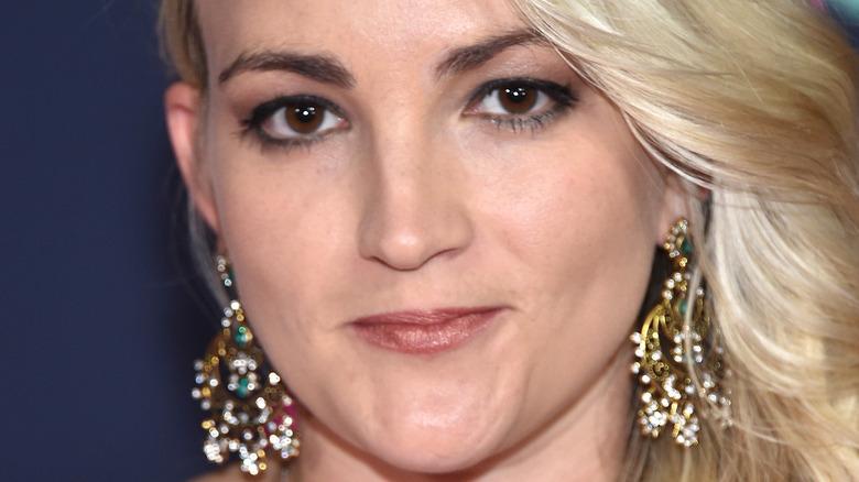Jamie Lynn Spears pursed lips