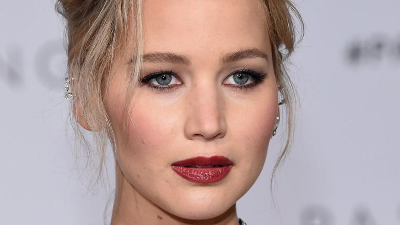 Jennifer Lawrence at the Passengers movie premiere