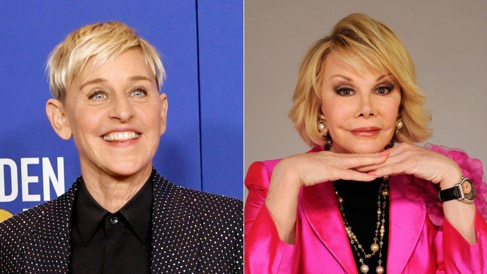 Ellen DeGeneres, Joan Rivers