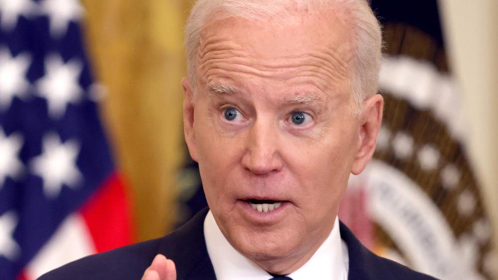 Biden's first press conference