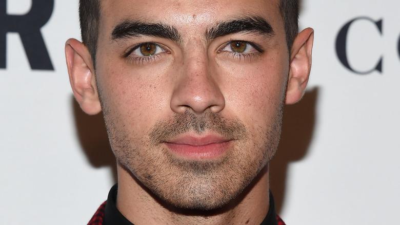 Joe Jonas posing