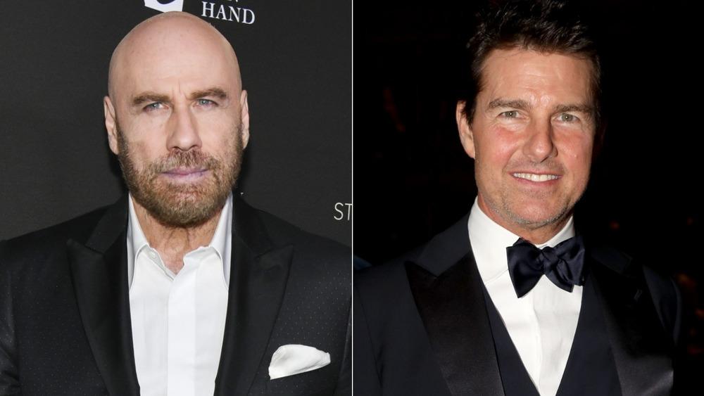 John Travolta and Tom Cruise red carpet
