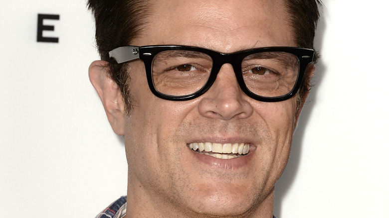 Johnny Knoxville smiling