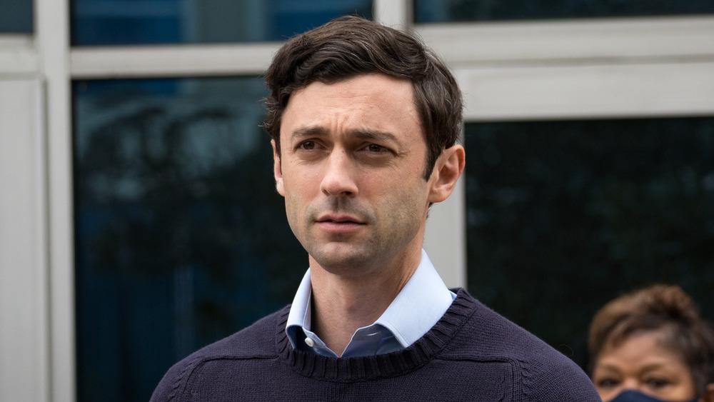 Jon Ossoff campaigning for the 2020 Georgia Senate election