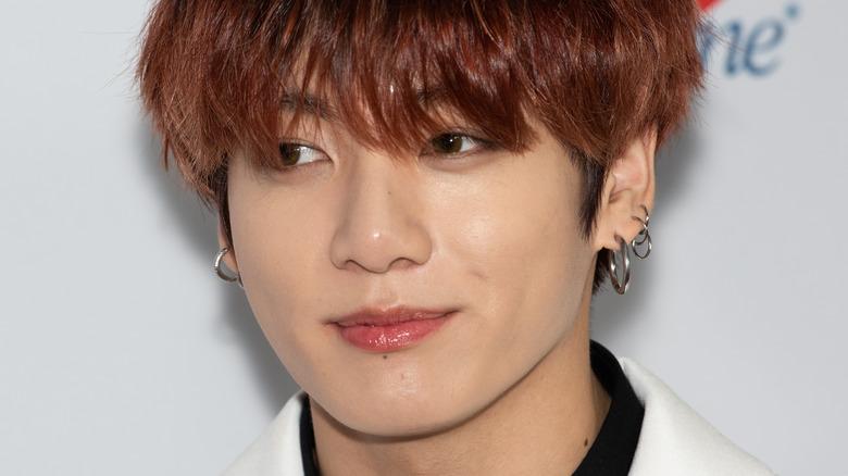 BTS member Jungkook smiling