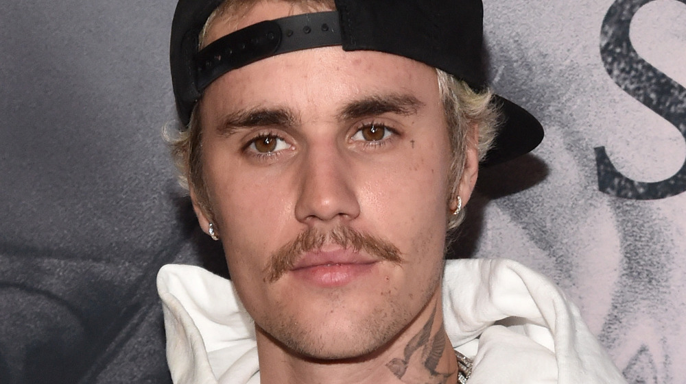 Justin Bieber attends Seasons party