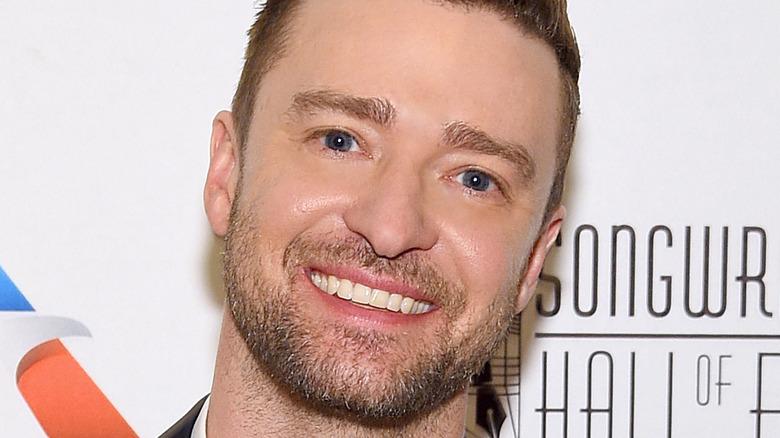 Headshot of Justin Timberlake smiling