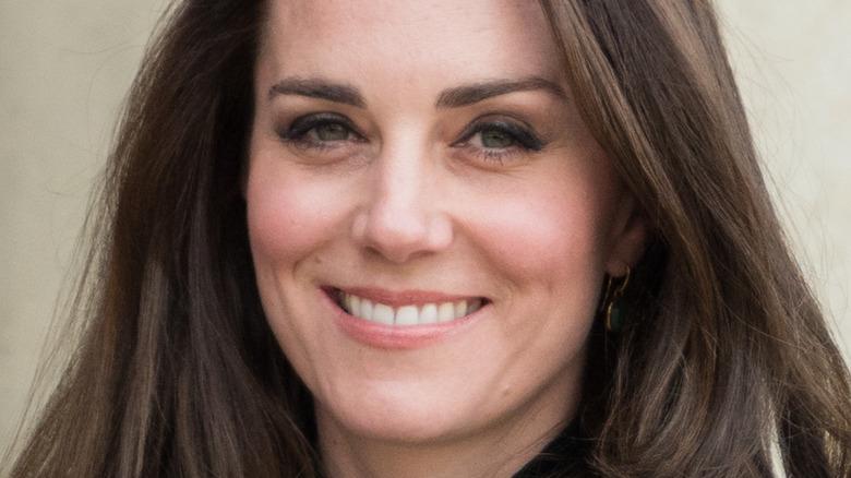 Kate Middleton long hair