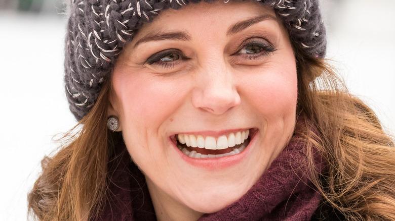 Kate Middleton bundled up in Sweden