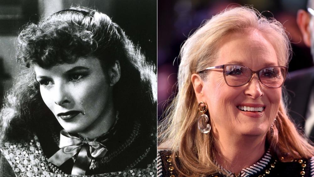 Katharine Hepburn and Meryl Streep
