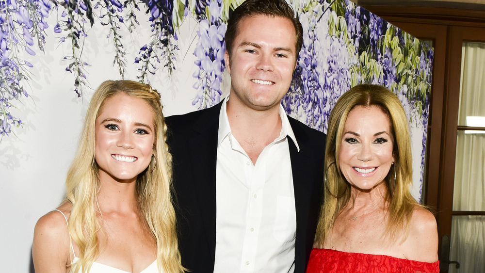 Kathie Lee Gifford with Cody and Cassidy Gifford