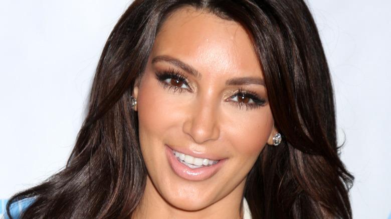 Kim Kardashian at the 4th Annual Night of Generosity Gala Event in 2012