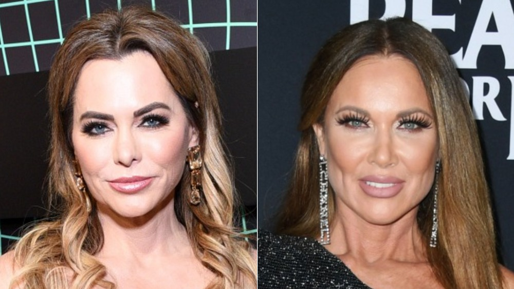 D'Andra Simmons and LeeAnne Locken on a red carpet