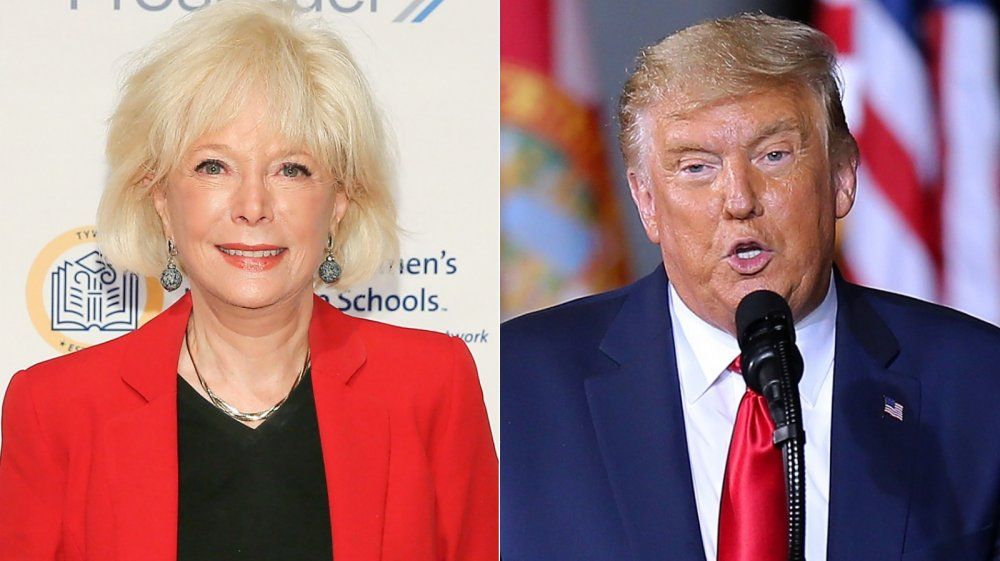 lesley stahl and Donald Trump