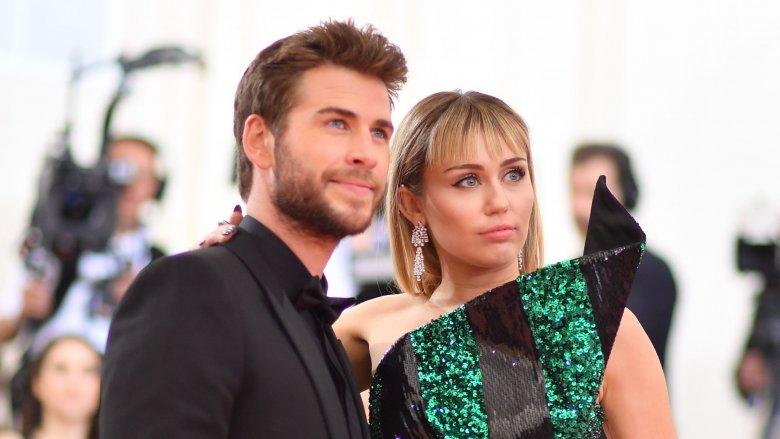 Liam Hemsworth & Miley Cyrus