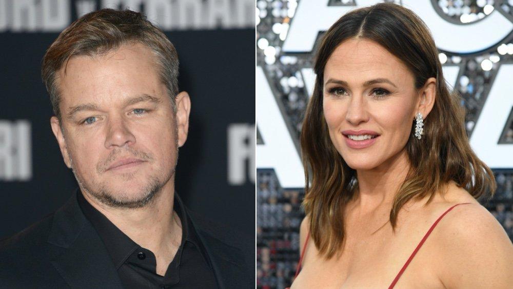 Actor Matt Damon; Actress Jennifer Garner