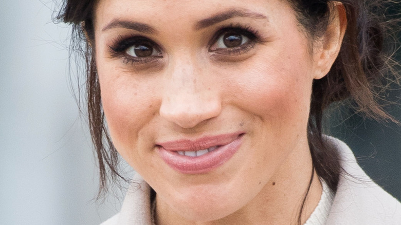 Meghan Markle brown eyes
