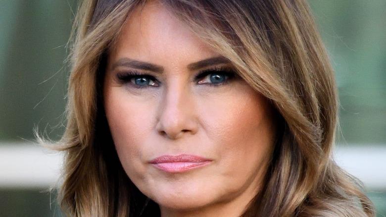 Melania Trump unhappy